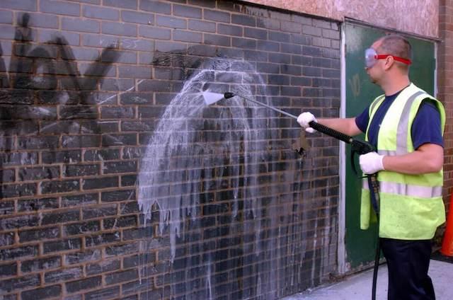 graffiti removal in alpharetta
